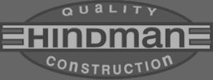Hindman Logo - White